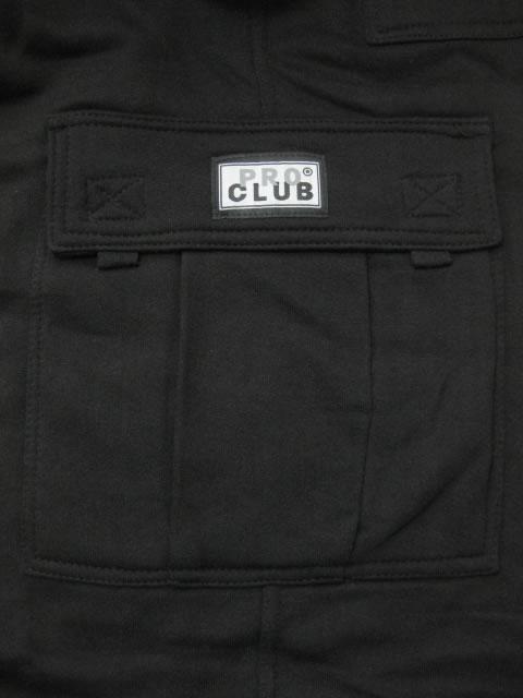 (大きいサイズ メンズ 通販 デビルーズ)PROCLUB(プロクラブ)スウェットカーゴショーツ