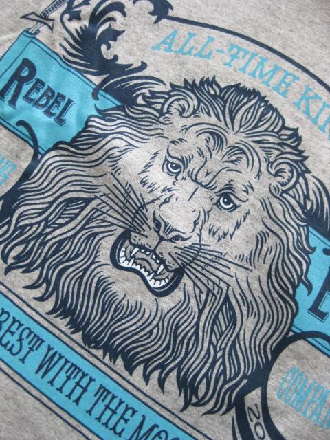 (大きいサイズ)REBEL8(レベルエイト)「ALL−TIME KINGS」TEE