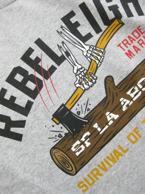 (大きいサイズ メンズ 通販 デビルーズ)REBEL8(レベルエイト)「SURVIVAL OF THE FEARLESS」TEE
