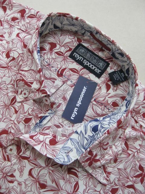(大きいサイズ メンズ 通販 デビルーズ)REYN SPOONER(レインスプーナー)「WAI−OLU」長袖シャツ