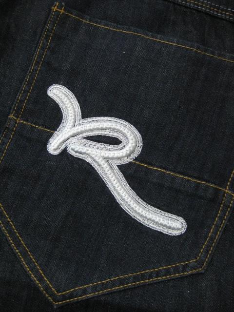 (大きいサイズ メンズ 通販 デビルーズ)ROCAWEAR(ロカウェア)EURO「ROC」ボタンフライバギーショーツ