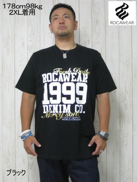 (大きいサイズ メンズ 通販 デビルーズ)ROCAWEAR(ロカウェア)USA「MARCY SON」TEE
