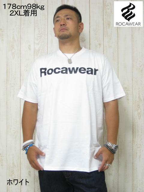 (大きいサイズ メンズ 通販 デビルーズ)ROCAWEAR(ロカウェア)USA「ULEANS2」TEE