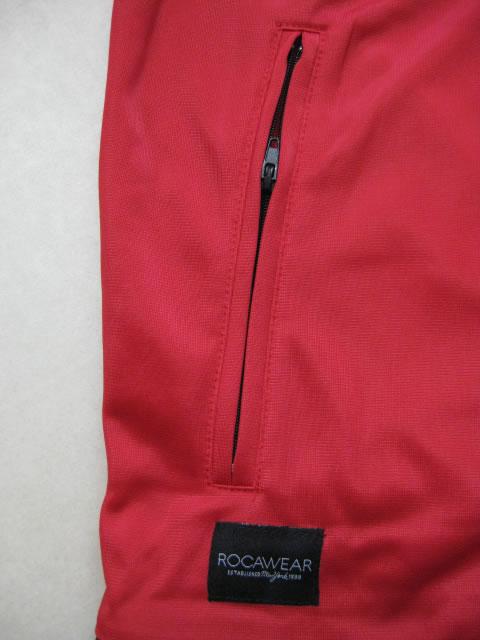 (大きいサイズ メンズ 通販 デビルーズ)ROCAWEAR(ロカウェア)EURO「R」トラックジャケット