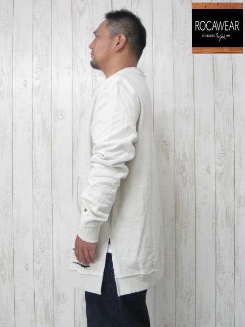 (大きいサイズ メンズ 通販 デビルーズ)ROCAWEAR(ロカウェア)EURO「YEZZY」スウェットシャツ