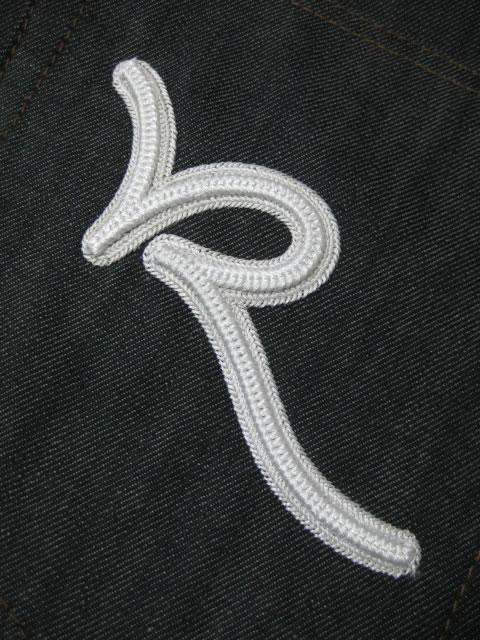(大きいサイズ メンズ 通販 デビルーズ)ROCAWEAR(ロカウェア)EURO「DOUBLE R CLASSIC」ボタンフライ ルーズフィットジーンズ