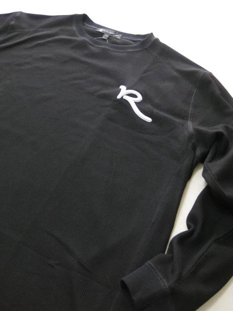 (大きいサイズ メンズ 通販 デビルーズ)ROCAWEAR(ロカウェア)JAPAN「SOLID」サーマルロンTEE