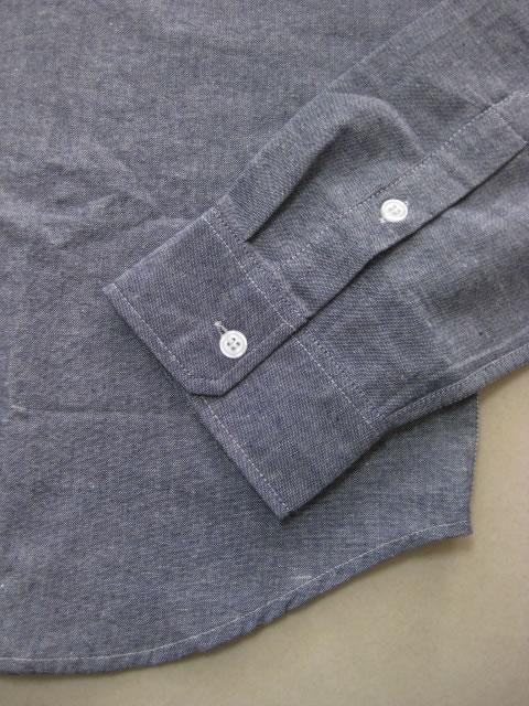 (大きいサイズ メンズ 通販 デビルーズ)ROCAWEAR(ロカウェア)JAPAN「SOLID CHAMBRAY」長袖シャツ