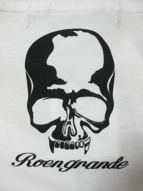 (大きいサイズ メンズ 通販 デビルーズ)ROEN GRANDE(ロエン グランデ) カモフラ スカル ロンTEE
