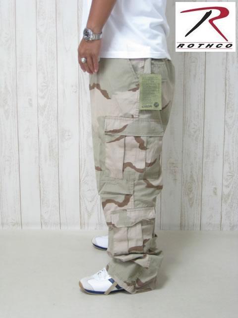 (大きいサイズ メンズ 通販 デビルーズ)ROTHCO(ロスコ) 8ポケット カーゴパンツ