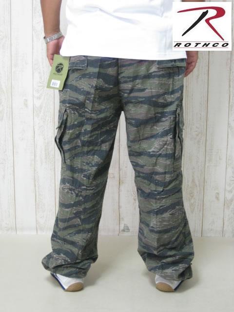 (大きいサイズ メンズ 通販 デビルーズ)ROTHCO(ロスコ) 6ポケット カーゴパンツ