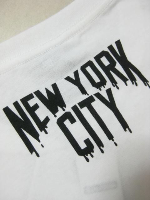 (大きいサイズ メンズ 通販 デビルーズ)SHELTY(シェルティ)「NEW YORK」ロンTEE