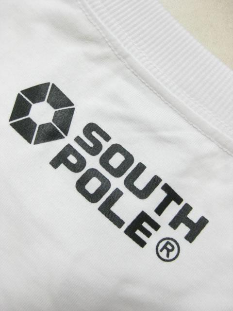 (大きいサイズ メンズ 通販 デビルーズ)SOUTHPOLE(サウスポール)迷彩フレームプリント ロンTEE