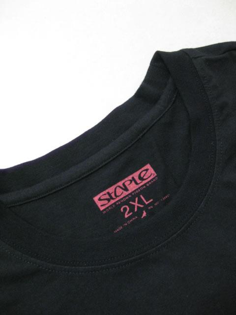 (大きいサイズ メンズ 通販 デビルーズ)STAPLE(ステイプル)「RUNNER」ロンTEE