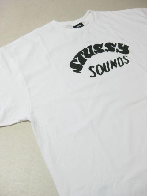(大きいサイズ メンズ 通販 デビルーズ)STUSSY(スチューシー)「STUSSY SOUNDS」TEE