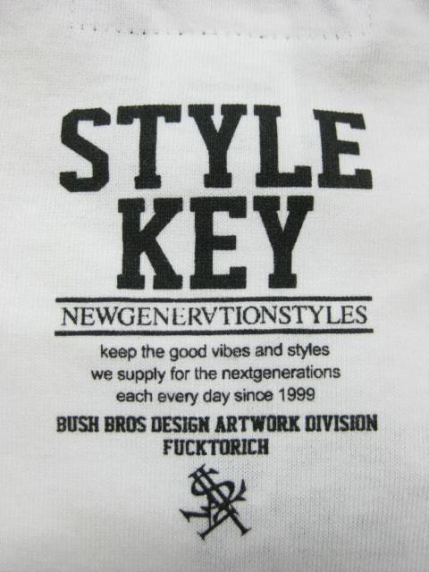 (大きいサイズ メンズ 通販 デビルーズ)STYLEKEY(スタイルキー)「SWEET LOGO」TEE