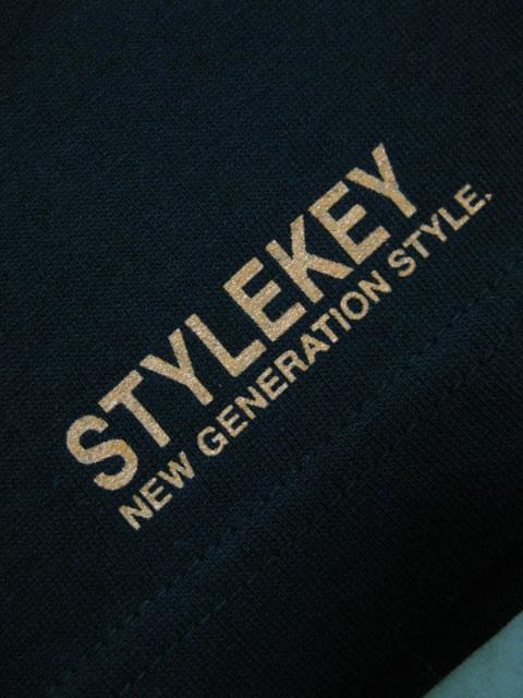 (大きいサイズ メンズ 通販 デビルーズ)STYLEKEY(スタイルキー)「SMART LOGO」TEE