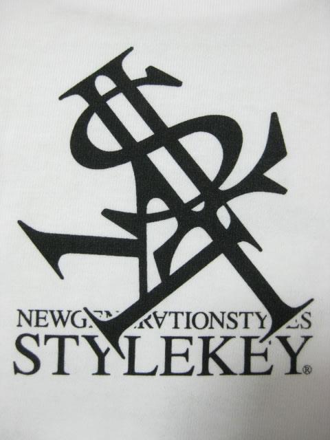 (大きいサイズ メンズ 通販 デビルーズ)STYLEKEY(スタイルキー)「ROYAL PAISLEY」TEE