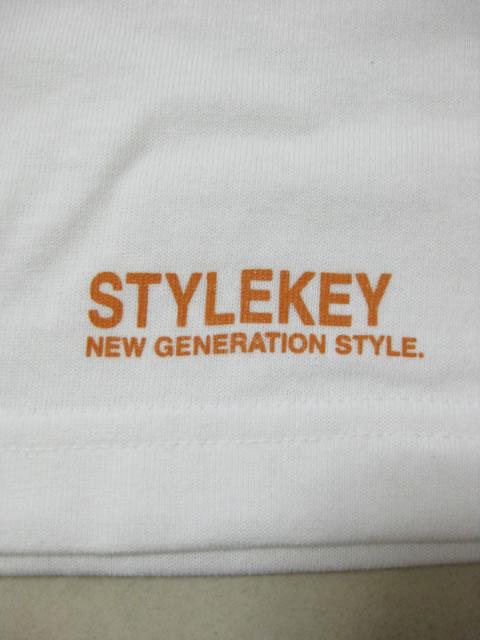 (大きいサイズ メンズ 通販 デビルーズ)STYLEKEY(スタイルキー)「S-O-C-J」TEE
