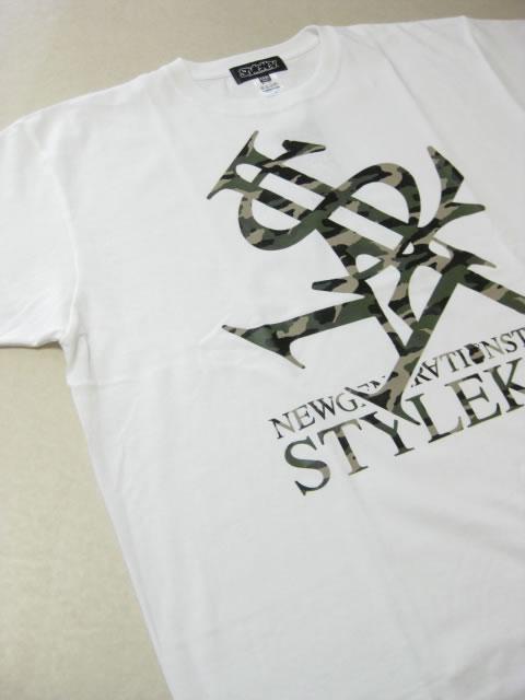 (大きいサイズ メンズ 通販 デビルーズ)STYLEKEY(スタイルキー)「ROYAL CAMO」TEE
