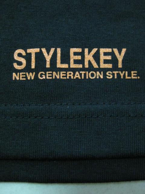(大きいサイズ メンズ 通販 デビルーズ)STYLEKEY(スタイルキー)「SMART LOGO」ロンTEE