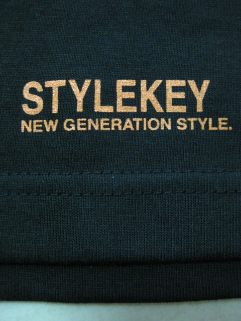 (大きいサイズ メンズ 通販 デビルーズ)STYLEKEY(スタイルキー)「WING LOGO」ロンTEE
