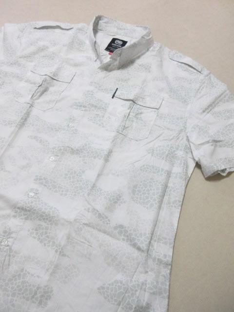 (大きいサイズ メンズ 通販 デビルーズ)ECKO UNLTD(エコーアンリミテッド)「LOTTERING」半袖シャツ