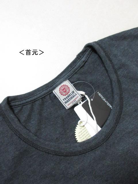(大きいサイズ メンズ 通販 デビルーズ)FRANKLIN&MARSHALL 「RECTANGULAR LOGO」TEE