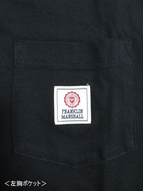 (大きいサイズ メンズ 通販 デビルーズ)FRANKLIN&MARSHALL ワンポケTEE