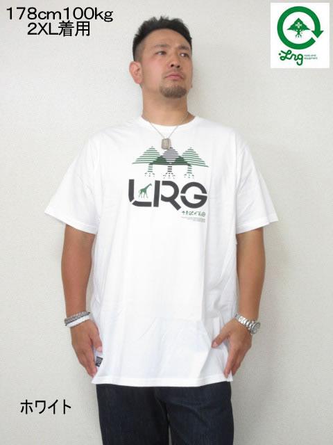 (大きいサイズ メンズ 通販 デビルーズ)LRG(エルアールジー)「ILLUSION」TEE