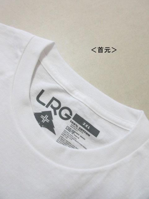 (大きいサイズ メンズ 通販 デビルーズ)LRG(エルアールジー)「LIFTED SCRIPT」TEE