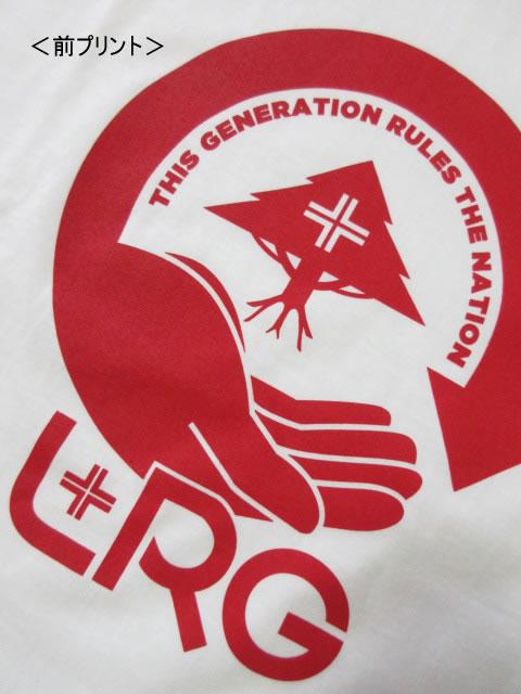 (大きいサイズ メンズ 通販 デビルーズ)LRG(エルアールジー)「NATION GENERATION」TEE