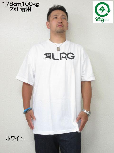 (大きいサイズ メンズ 通販 デビルーズ)LRG(エルアールジー)「ORIGINAL ROOTS PEOPLE」TEE