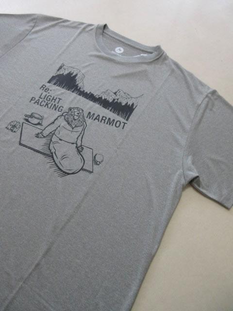 (大きいサイズ メンズ 通販 デビルーズ)MARMOT(マーモット)「HEATHER COWBOY CAMP」TEE