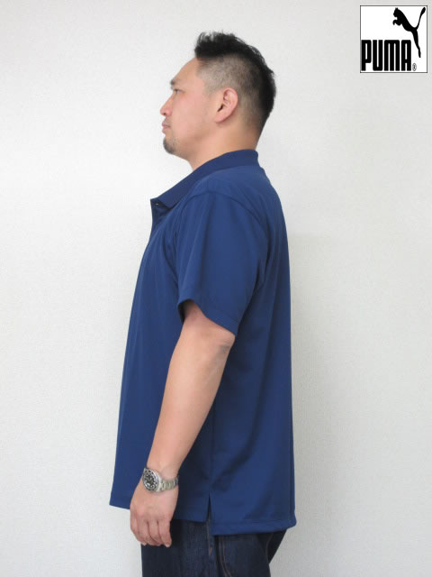 (大きいサイズ メンズ 通販 デビルーズ)PUMA(プーマ)「SIMPLE」半袖ポロシャツ