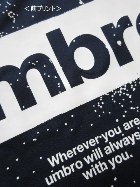 (大きいサイズ メンズ 通販 デビルーズ)UMBRO(アンブロ)ドライ グラフィックTEE