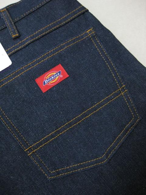 (大きいサイズ メンズ 通販 デビルーズ)Dickies(ディッキーズ)5ポケット ジーンズ