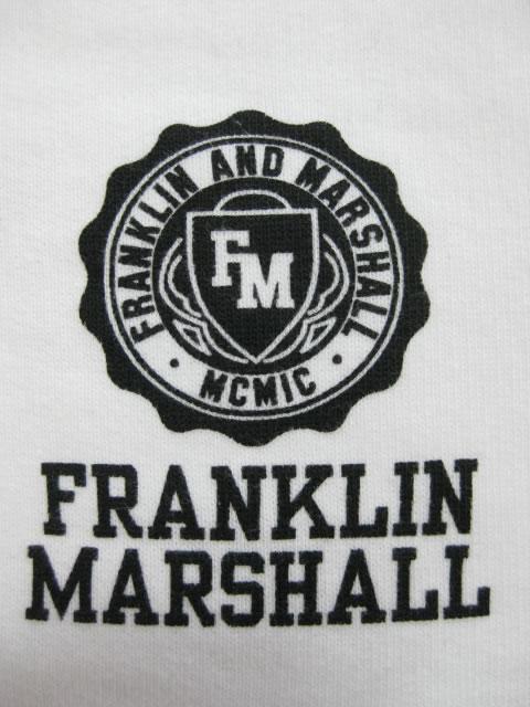 (大きいサイズ)FRANKLIN&MARSHALL(フランクリンアンドマーシャル)「FALL IN」スウェットシャツ