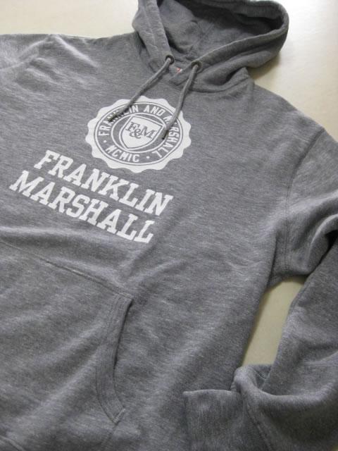 (大きいサイズ メンズ 通販 デビルーズ)FRANKLIN&MARSHALL 「F&M」HOODY