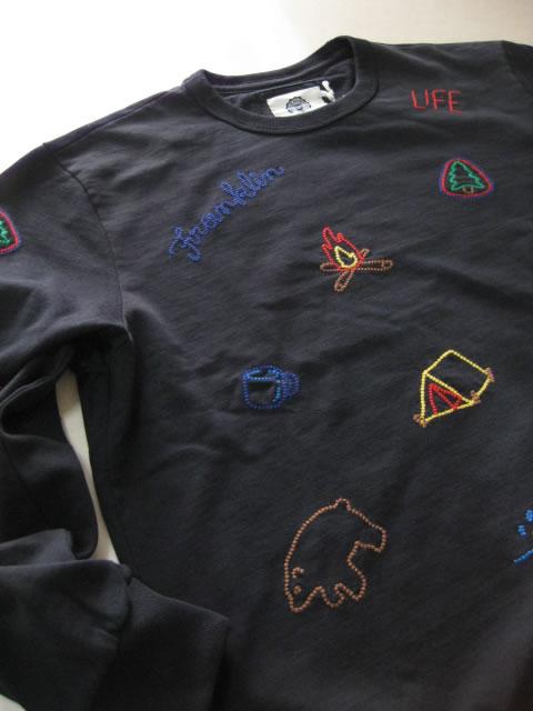 (大きいサイズ メンズ 通販 デビルーズ)FRANKLIN&MARSHALL「OUTDOOR」スウェットシャツ