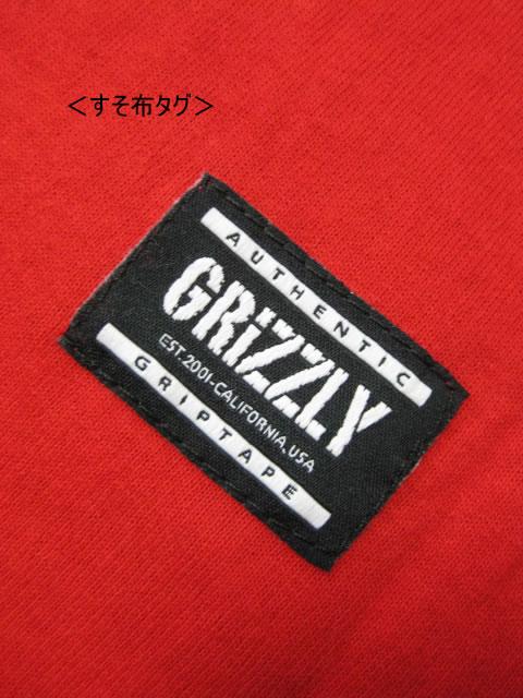 (大きいサイズ メンズ 通販 デビルーズ)GRIZZLY(グリズリー)「OG BEAR EMBROIDERED」ポケットTEE