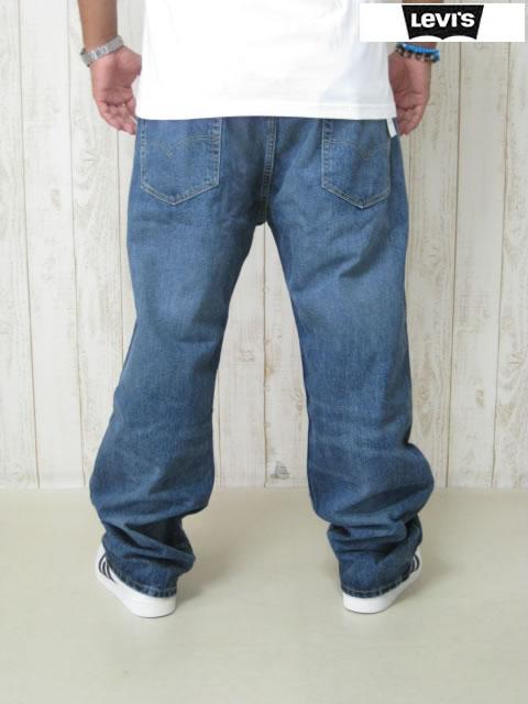 (大きいサイズ メンズ 通販 デビルーズ)LEVIS(リーバイス)569 ルーズストレートジーンズ