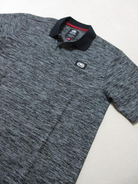 (大きいサイズ メンズ 通販 デビルーズ)ECKO UNLTD(エコーアンリミテッド)「FLY PRINT」半袖ポロシャツ