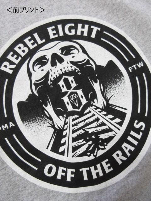 (大きいサイズ メンズ 通販 デビルーズ)REBEL8(レベルエイト)「OFF THE RAILS」TEE